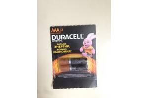 Щелочные батарейки Duracell AAA (LR03) MN2400