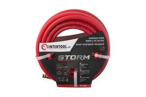 Шланг для компрессора гибридный, профессиональный, 20 атм, 6*11мм, 10м STORM Intertool PT-1761