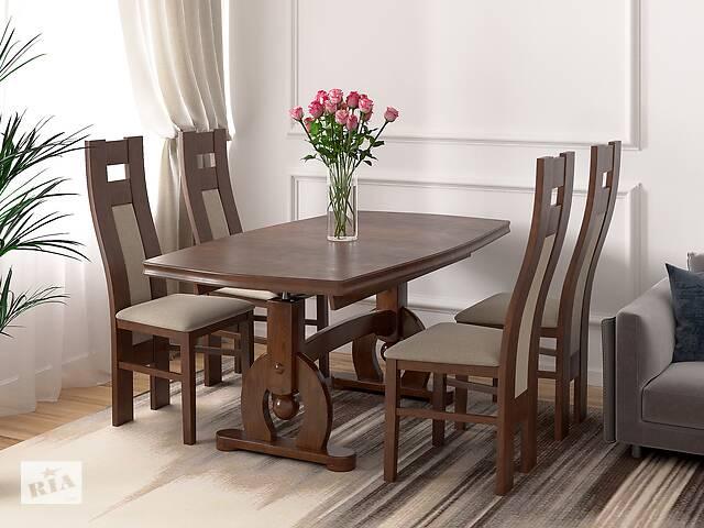 Стол + 4 кресла- объявление о продаже  в Червонограде