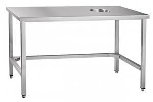 Стол для сбора отходов ССО-4 Abat (нерж.)