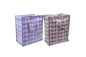 Сумка клетчатая, сумка баул, сумка хозяйственная клетка