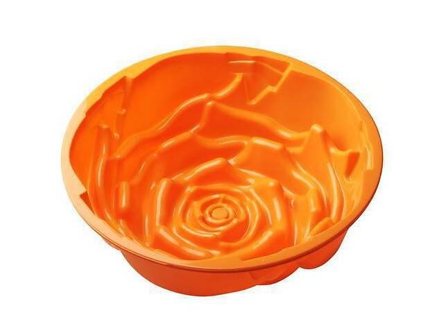 купить бу Силиконовая форма Hauser 7096 Роза 22.5х7.5см (EM7096_psg) в Киеве
