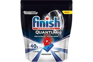 Таблетки для посудомоечных машин Finish Quantum Ultimate 40 шт (5900627090307)