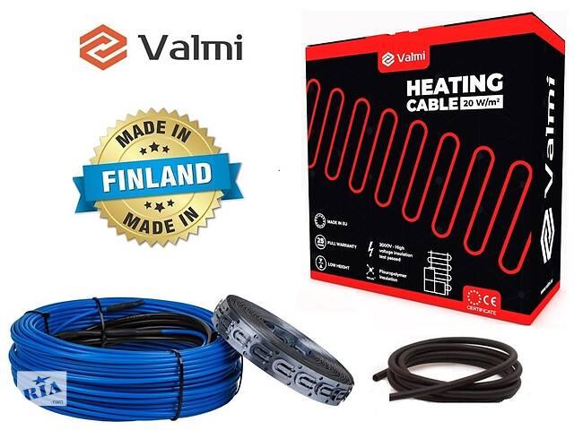 купить бу Тепла підлога Valmi 8 м²-10 м² / 1600 Вт (80м) тонкий двожильний нагрівальний кабель 20Вт/м під плитку в Києві