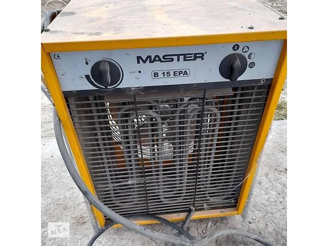 Тепловая пушка электрическая master B 15 EPB- объявление о продаже  в Чернигове