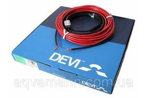 Теплый пол Deviflex 18T двужильный кабель с сплошным экраном, 395W, 2.2 м.кв.(140F1238)