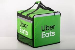 Термосумка Убер Uber Eats. Сумка холодильник НОВА!