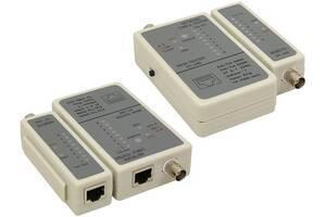 Тестер кабельный Cablexpert NCT-1 для RJ45, RG58 кабелей
