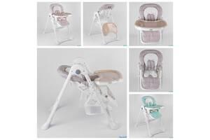 Тоти стульчик для кормления детский высокий Toti