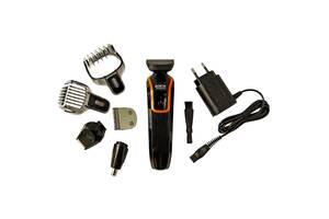 Универсальный мужской триммер для бороды усов носа и тела Rozia HQ 5100 6в1 машинка для стрижки