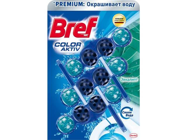 Туалетный блок Bref Цветная вода Эвкалипт 3х50 г (9000101352986)- объявление о продаже  в Киеве