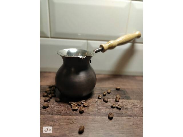 Турка, джезва турка для кави 300мл, посуд, кава, подарунок