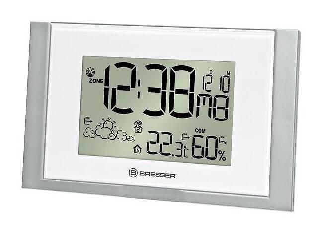 купить бу Удобная домашняя метеостанция  WoW200 белая Bresser  908533. в Киеве