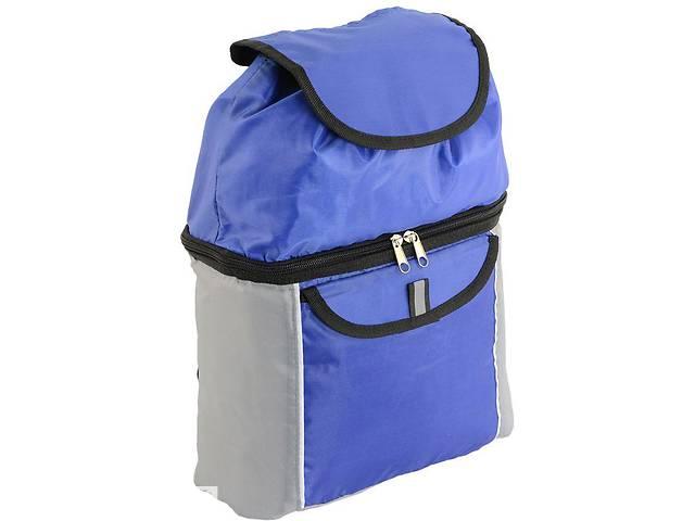 Удобный термо-рюкзак с плотной ткани 12 л. TRAUM 7012-23 серо-синий- объявление о продаже  в Киеве