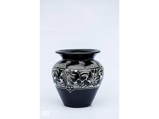 бу Декоративная ваза BST 50 см керамическая с лепкой 530323 в Киеве