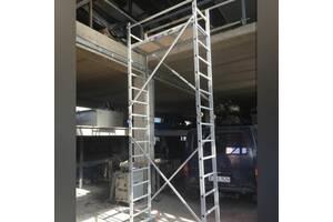 Вышка строительная алюминиевая база с надстройкой