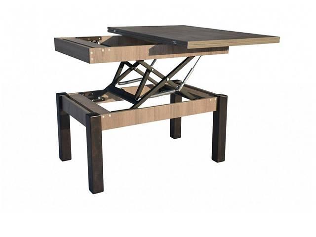 продам Журнальный стол столик трансформер Микс Мебель™ / Неман™ Флай / Баттерфлай Дуб сонома трюфель бу в Киеве