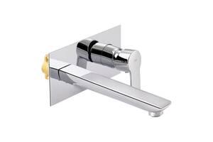 Змішувач прихованого монтажу для раковини Qtap Ustek 1116107C