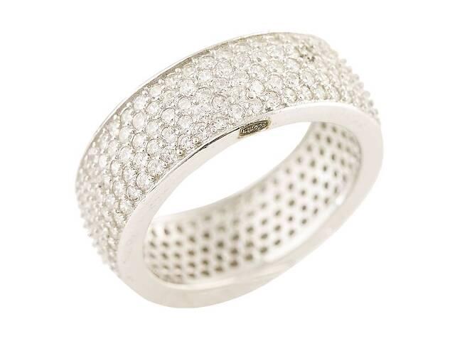 продам Серебряное кольцо SilverBreeze с фианитами 16.5 (1211953) бу в Киеве