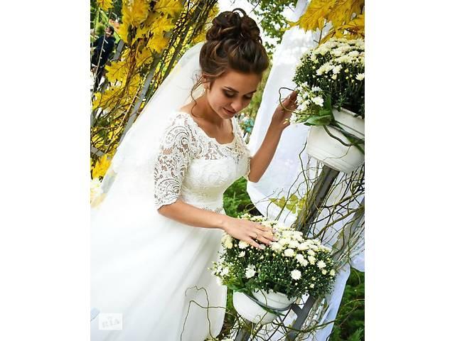 Свадебное платье- объявление о продаже  в Золочеве