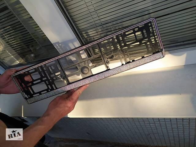 бу В стразах рамка для номера авто авторамка в Днепре (Днепропетровск)