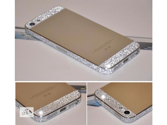 продам Алмазная наклейка Diamond для iPhone 5/5S бу в Рокитном (Ровенской обл.)