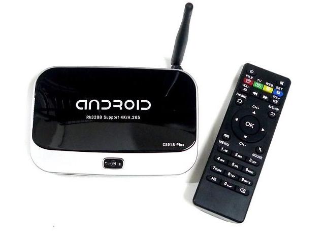 бу Android TV приставка СS918+ в наличии в Украине в Одессе