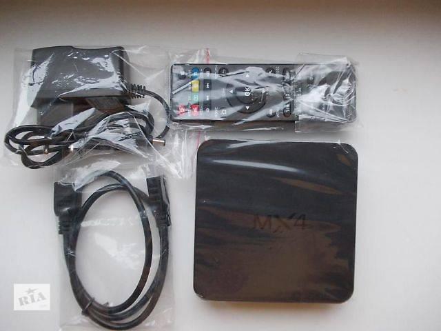 продам Android TV Smart Box MX4 RK3229 Медиаплеер в наличии бу в Киеве