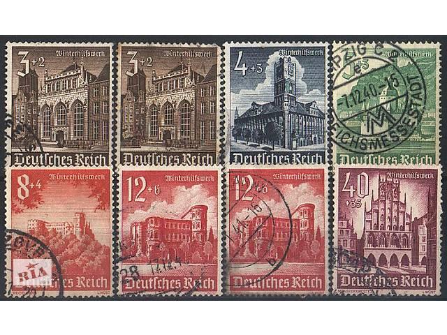 бу  1940 - Рейх - Зимняя помощь Mi.751-759 _13.10 EU в Ровно