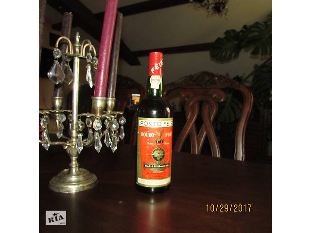 Антикварная нерозпечатана бутылка вина- объявление о продаже  в Львове