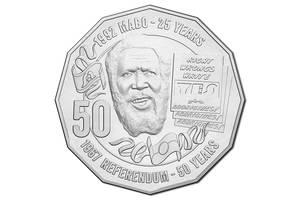 Австралия-50 центов (2017) '50-летие референдума' UNC