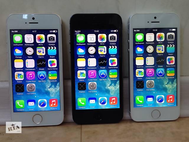 Apple iPhone 5S 16Gb (MTK 6589) - 4 Ядра процессор! Android 4.2.2!  В Наличии! Оплата При Получении! Без Предоплат!- объявление о продаже  в Одессе