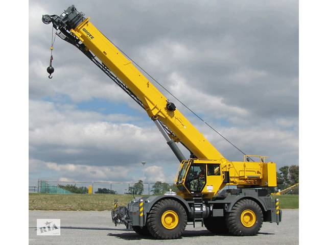 купить бу Аренда Автокран 120 тонн Grove GMK 5120  в Украине