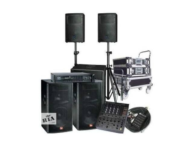 продам Аренда музыкальной аппаратуры в Николаеве. бу  в Украине