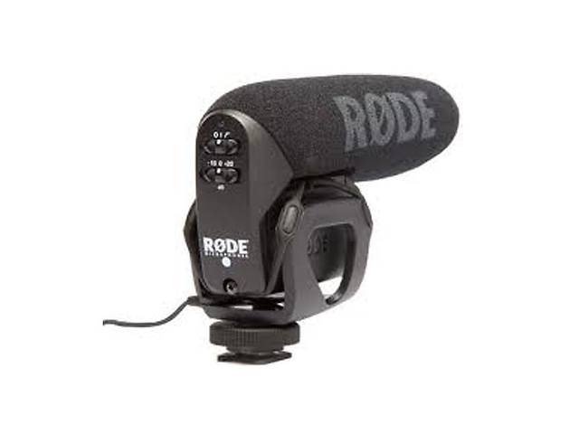 бу Аренда (прокат) накамерный микрофон-пушка Rode VideoMic Pro в Киеве