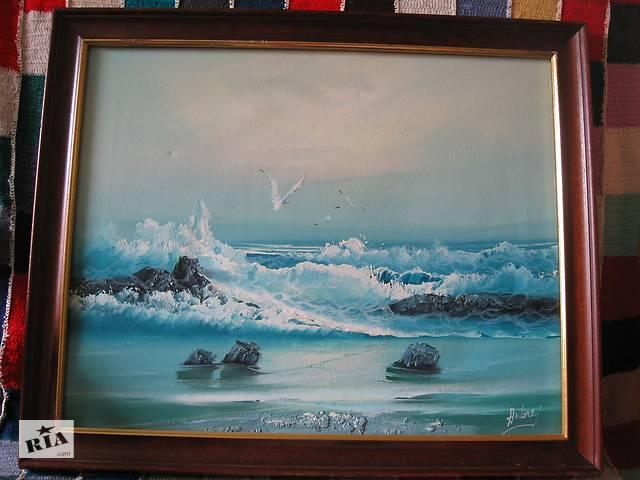 продам Картина,масло, Морской пейзаж бу в Львове