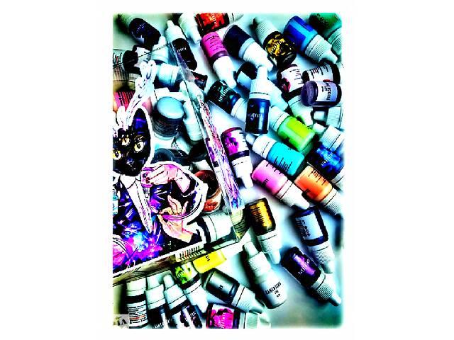 купить бу Продам набор алкогольных чернил(22 цвета) флакон 20 мл.- 55 гр. в Васильевке