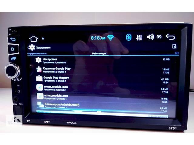 2din Автомагнітола Pioneer 8701 GPS, WiFi, Bt Android 5- объявление о продаже  в Дніпрі (Дніпропетровськ)