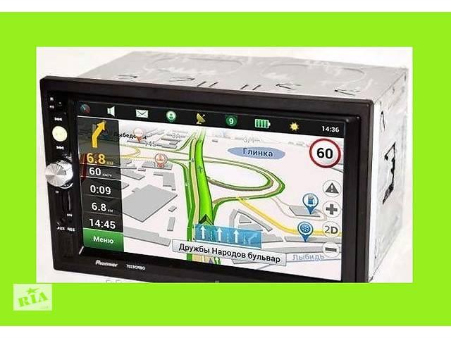 """купить бу Автомагнитола 2Din Pioneer 7022/7023 CRBG 7"""" IPS 1024*600 GPS, Bluetooth, +Рамка+Шахта НОВИНКА в Киеве"""