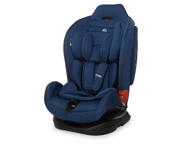 купить бу Детское автокресло El Camino TALISMAN ME 1065 группа 0+/1/2, 0-25 кг, Blue, ткань лен в Львове
