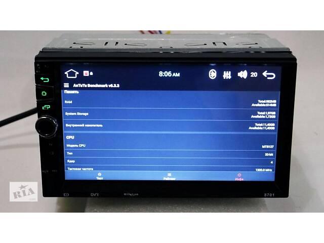 Автомагнитола 2din Pioneer 8701 GPS, 4Ядра, 16Gb ROM, 1Gb RAM, Android- объявление о продаже  в Львове