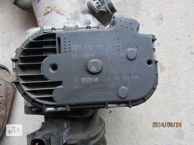 Б/у A6420900270 0281002894 дросельная заслонка/датчик для легкового авто Mercedes Sprinter 2010- объявление о продаже  в Хусте