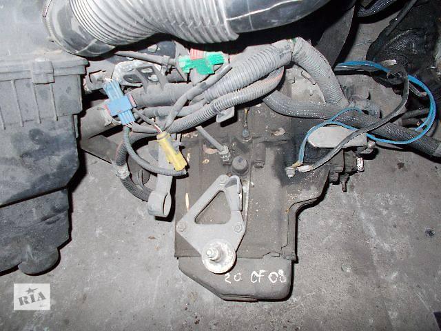 купить бу Б/у Коробка передач КПП Peugeot 206 1.1, 1.4, 1.6 бензин № 20CF08 в Стрые