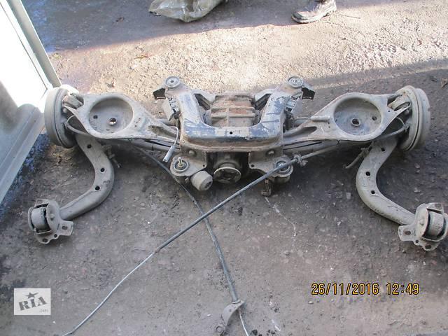 продам Б/у балка задней подвески для седана BMW 3 Series бу в Львове