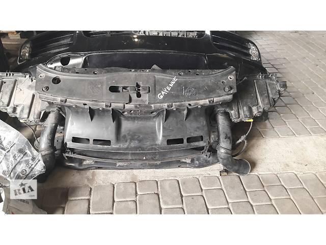 бу Б/у бампер передний  авто Porsche Cayenne Lift 2008 3.2 морда комплектная бампер крылья фары телевиз в Львове