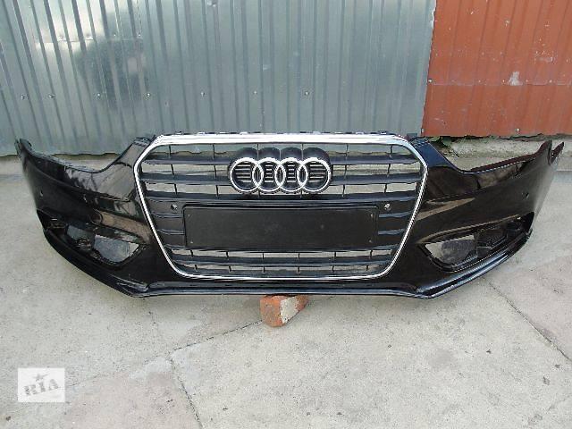 продам Б/у бампер передний для легкового авто Audi A4 2014 ДЕШЕВО В НАЛИЧИИ!!! бу в Львове