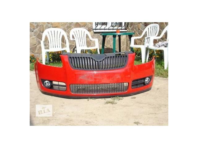 Б/у бампер передний для легкового авто Skoda Fabia- объявление о продаже  в Львове