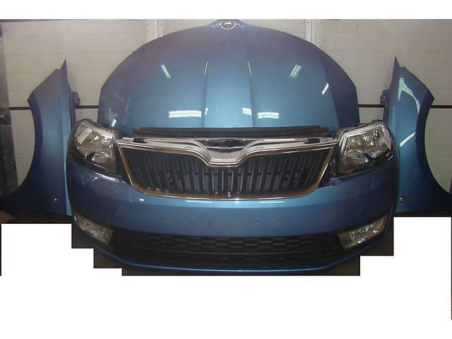 продам Б/у бампер передний для легкового авто Skoda Rapid бу в Здолбунове