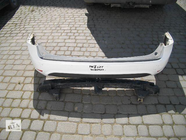 Б/у бампер задний для легкового авто Ford Focus 2009- объявление о продаже  в Львове