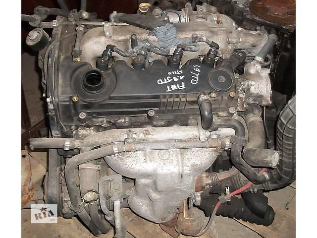 бу Б/у блок двигателя для легкового авто Fiat Stilo Фиат Стило 1,9 JTD 2003 в Рожище